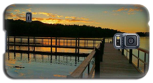 Sunset At Lake Mcintosh Galaxy S5 Case