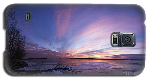 Sunset At Lovewell Lake Kansas Galaxy S5 Case