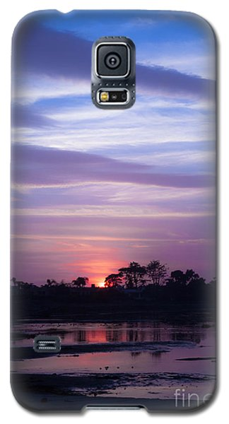 Sunset At Malibu Beach Lagoon Estuary Fine Art Photograph Print Galaxy S5 Case