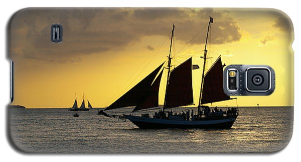 Sunset At Mallory Square II Galaxy S5 Case by Greg Graham