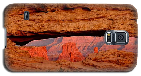 Sunset At Mesa Arch Galaxy S5 Case