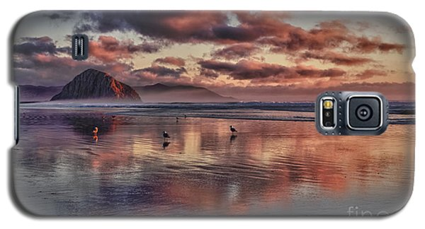 Sunset At Morro Strand Galaxy S5 Case