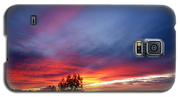 Galaxy S5 Case featuring the photograph Sunset At Mount Carmel  Haifa 01 by Arik Baltinester