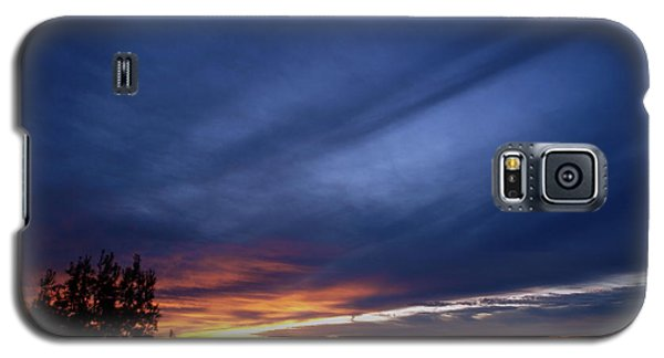 Galaxy S5 Case featuring the photograph Sunset At Mount Carmel  Haifa by Arik Baltinester