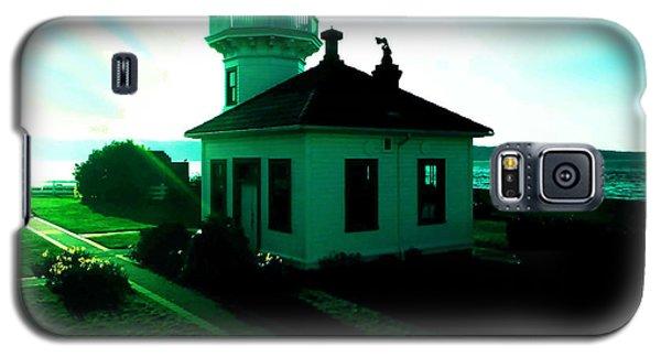 Sunset At Mukilteo Lighthouse Park  Galaxy S5 Case