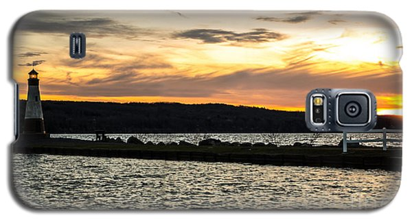 Sunset At Myers Galaxy S5 Case