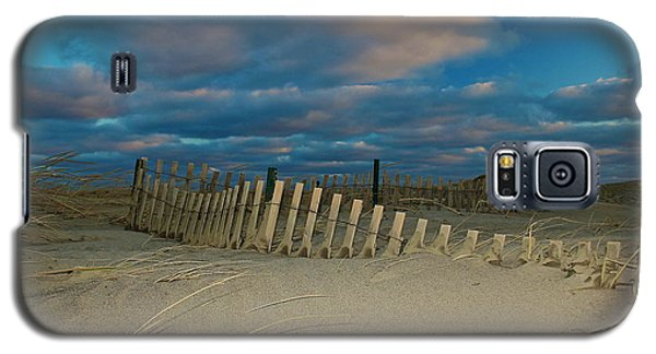 Galaxy S5 Case featuring the photograph Sunset At Nauset Beach Cape Cod by Amazing Jules