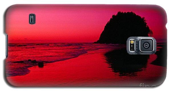 Sunset At Neskowin Beach- Proposal Rock Galaxy S5 Case