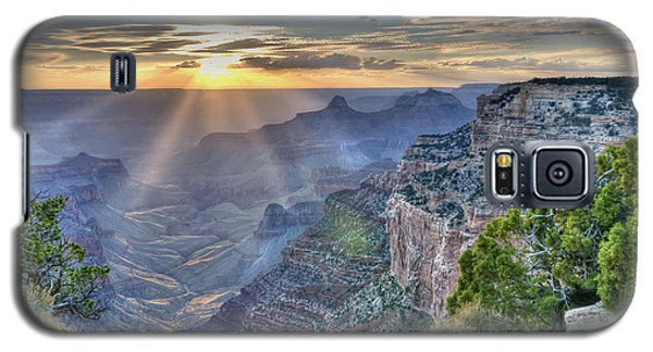 Sunset At Northern Rim Of The Grand Canyon Galaxy S5 Case