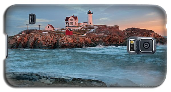 Sunset At Nubble Lighthouse Galaxy S5 Case