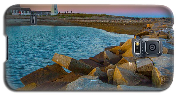 Sunset At Old Scituate Lighthouse Galaxy S5 Case
