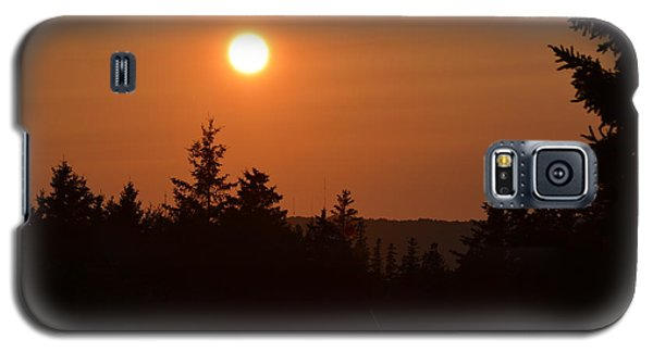 Sunset At Owl's Head Galaxy S5 Case