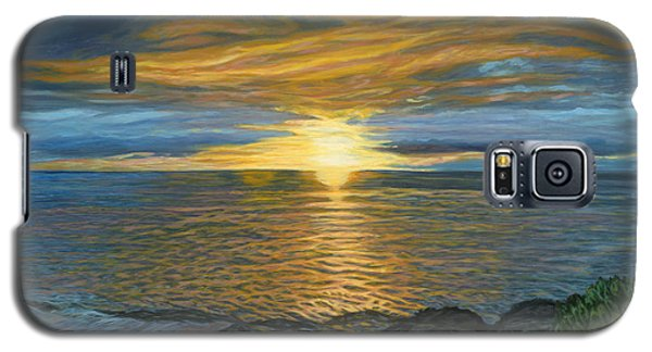 Sunset At Paradise Cove Galaxy S5 Case