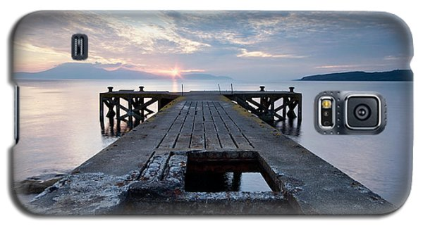 Sunset At Portencross Galaxy S5 Case by Stephen Taylor