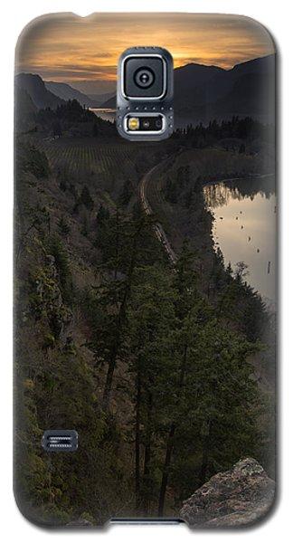 Sunset At Ruthton Point Galaxy S5 Case