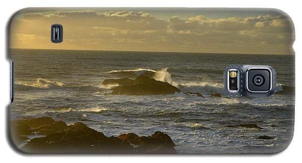 Sunset At Santa Cruz Galaxy S5 Case by Alex King