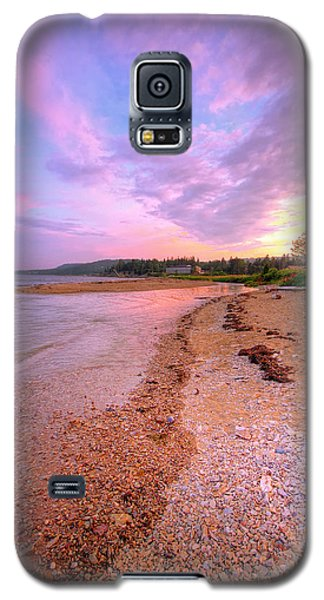 sunset at Stanley Beach. Galaxy S5 Case