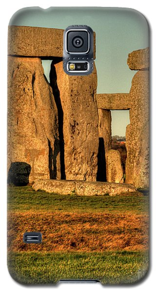 Sunset At Stonehenge 2 Galaxy S5 Case