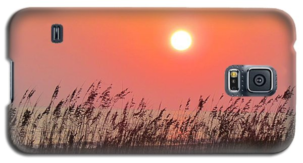 Sunset At The Beach Galaxy S5 Case