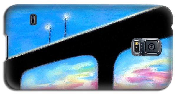 Sunset At The Bridge Galaxy S5 Case