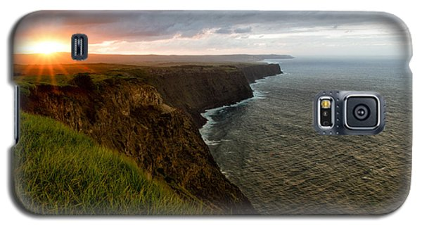 Sunset At The Cliffs Galaxy S5 Case