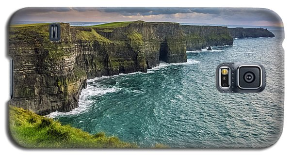 Sunset At The Cliffs Of Moher Galaxy S5 Case