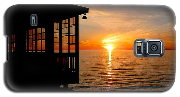 Sunset At The Crab Shack Galaxy S5 Case