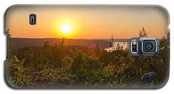 Sunset At The Lake Hiidenvesi Galaxy S5 Case