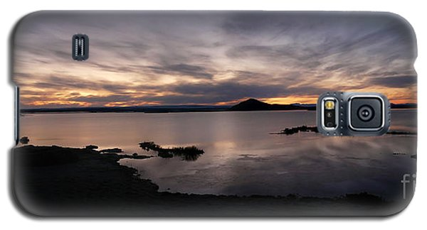 Sunset Over Lake Myvatn In Iceland Galaxy S5 Case