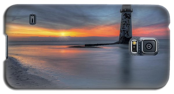 Sunset At The Lighthouse V3 Galaxy S5 Case