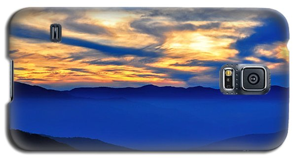 Sunset At The Max Galaxy S5 Case