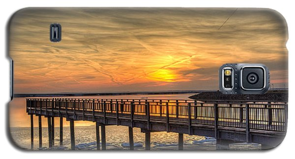 Sunset At The Pier Galaxy S5 Case