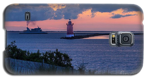 Sunset At The Point Galaxy S5 Case