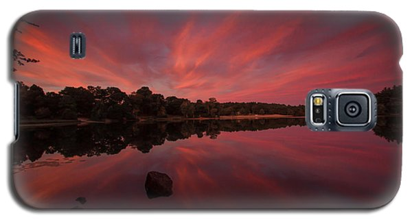 Sunset At The Pond Galaxy S5 Case