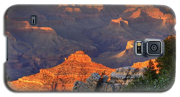 Galaxy S5 Case featuring the photograph Sunset At Yaki Point by Alan Vance Ley