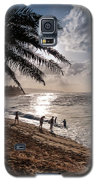 Sunset Beach Park Galaxy S5 Case