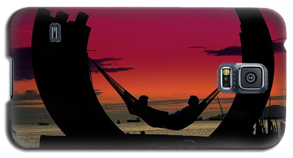Sunset Beach Relaxation Galaxy S5 Case