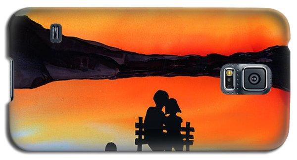 Sunset Bench Galaxy S5 Case