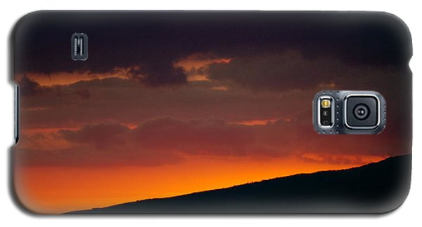 Sunset Beyond The Waianae Mountain Range Galaxy S5 Case