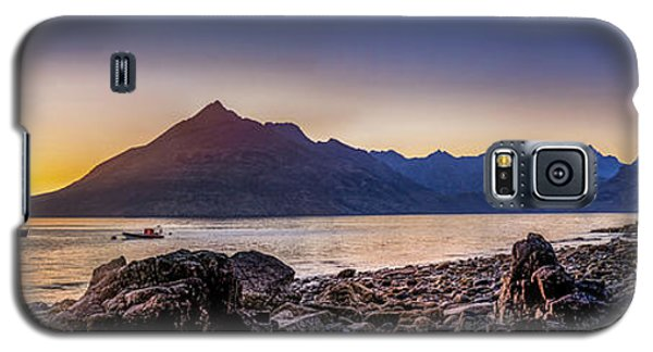 Sunset Black Cuillin Isle Of Skye Scotland Galaxy S5 Case