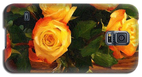 Sunset Bouquet Galaxy S5 Case