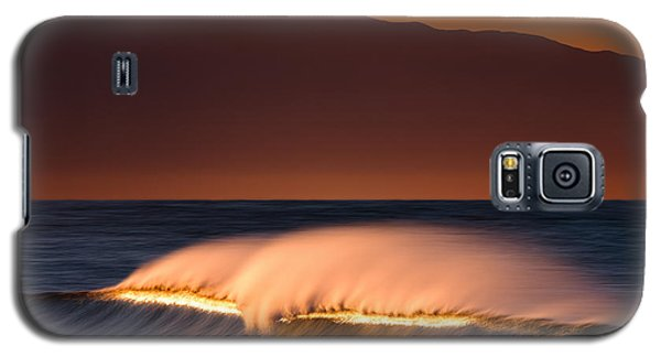 Galaxy S5 Case featuring the photograph Sunset Breaking73a0456 by David Orias