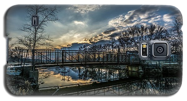 Sunset Bridge 2 Galaxy S5 Case
