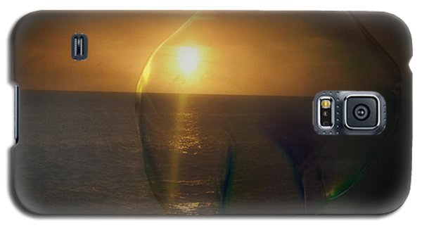 Sunset Bubble Galaxy S5 Case