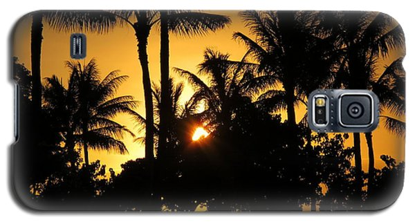 Sunset By The Beach Galaxy S5 Case