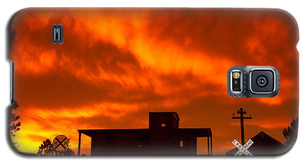 Sunset Caboose Galaxy S5 Case