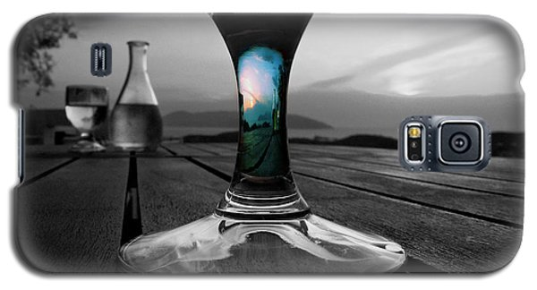 Sunset Cafe Galaxy S5 Case by Micki Findlay