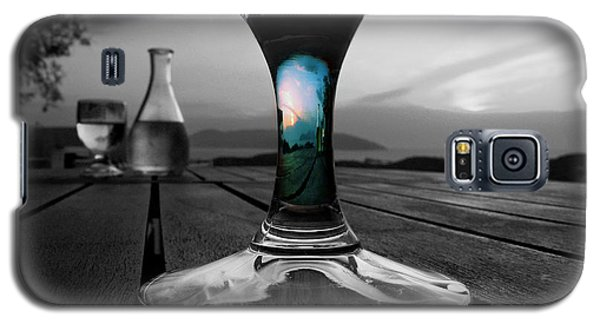Sunset Cafe Galaxy S5 Case