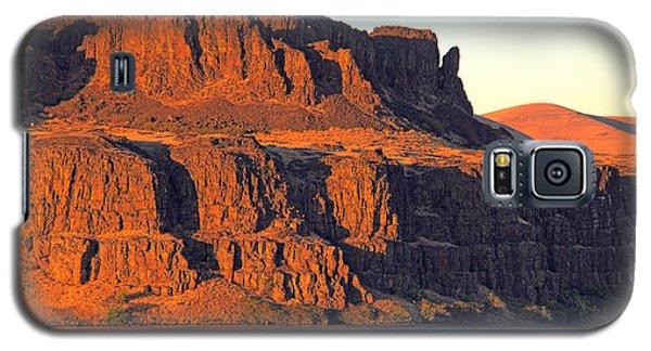 Sunset Cliffs At Horsethief  Galaxy S5 Case