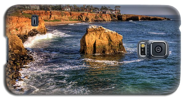 Sunset Cliffs Galaxy S5 Case by Eddie Yerkish